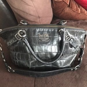 Authentic alligator Coach purse